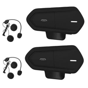 INTERCOM MOTO 2 Pcs Intercom Moto Bluetooth,Kit Communication Or