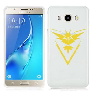 Coque Samsung Galaxy J5 2016 Pokemon go team pokedex Pikachu Manga valor mystic instinct case REF11050 REF 8625