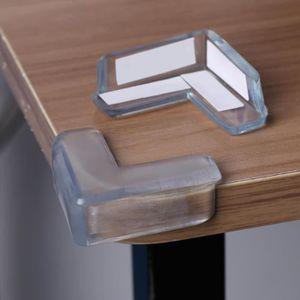 Protection Coin de Table 15pcs Protecteurs d/'angles Transparents Prot/ège dangle table Anti-collision Protection de bords auto-ad/ésive pour Table Coin de meuble s/écurit/é de B/éb/é