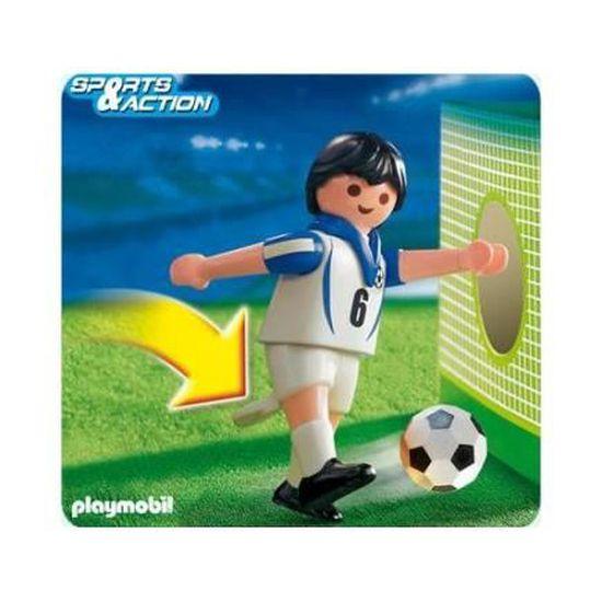 playmobil nouveau joueur de football anglais