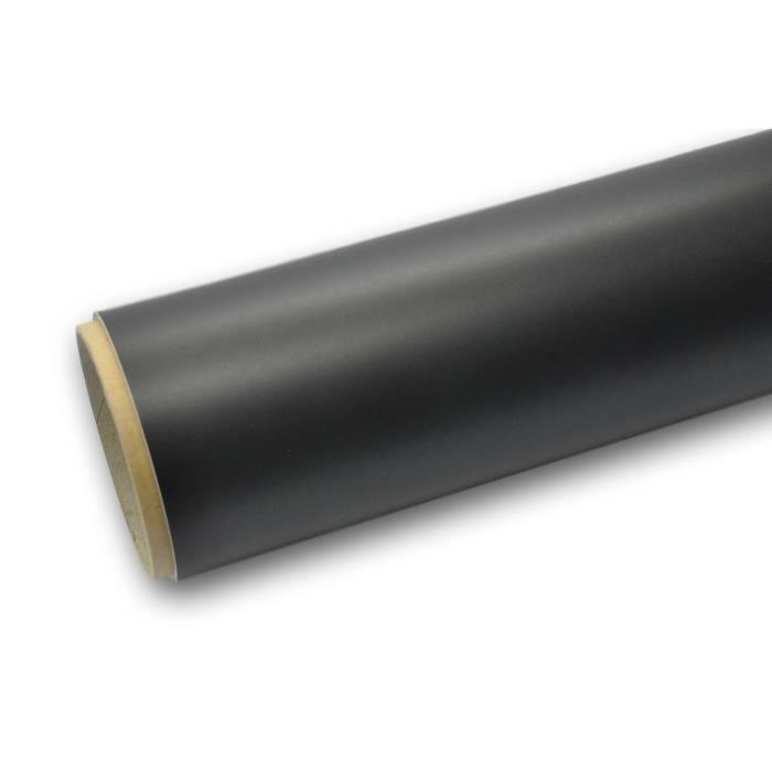3M Scotchprint 1080 Film de covering pour v/éhicules coul/é teint/é masse Noir profond mat 100 x 152 cm