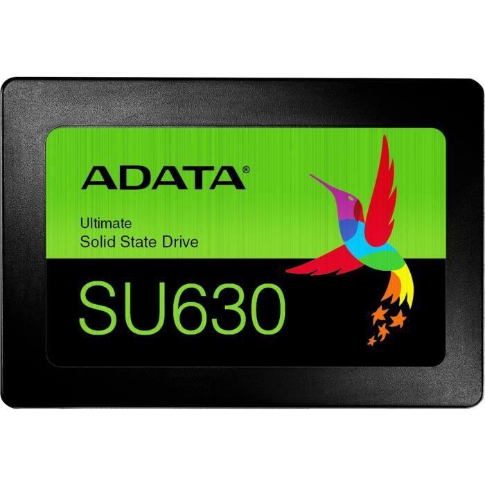ADATA SSD Ultimate SU630 disque SSD 2.5- 480 Go SATA QLC 3D NAND