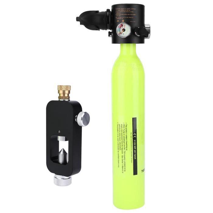 Accessoire de longe pour adaptateur de plongée, bouteille de respiration, bouteille d'oxygène, équipement de plongée(vert )-LAT