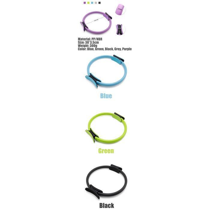 bleu Yoga de qualité Pilates Magic Circle Wrap Perte de poids Fitness Bodybuilding Robuste PP + NBR Matériel 5 Couleurs