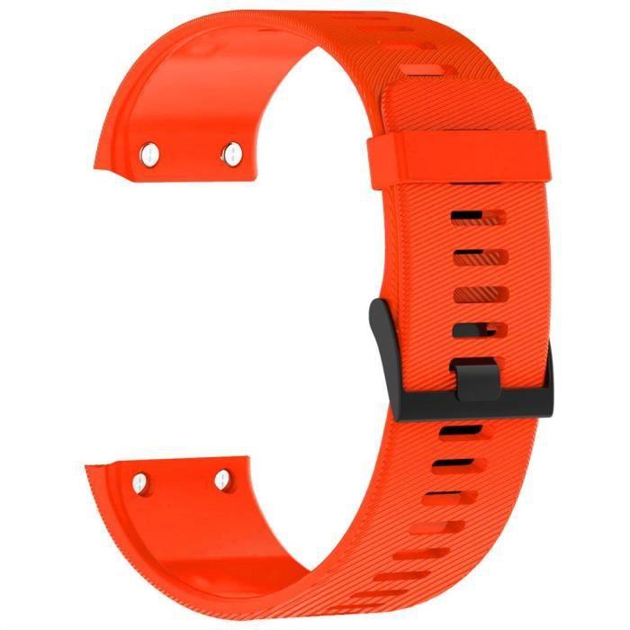 bracelet de montre vendu seul Bracelet de remplacement en silicone pour bracelet de sport pour Garmin Forerunner 35-30