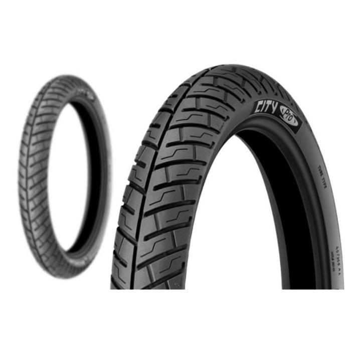 Pneu mixte avant ou arrière Michelin City Pro 3.50-16 445718 moto 58P