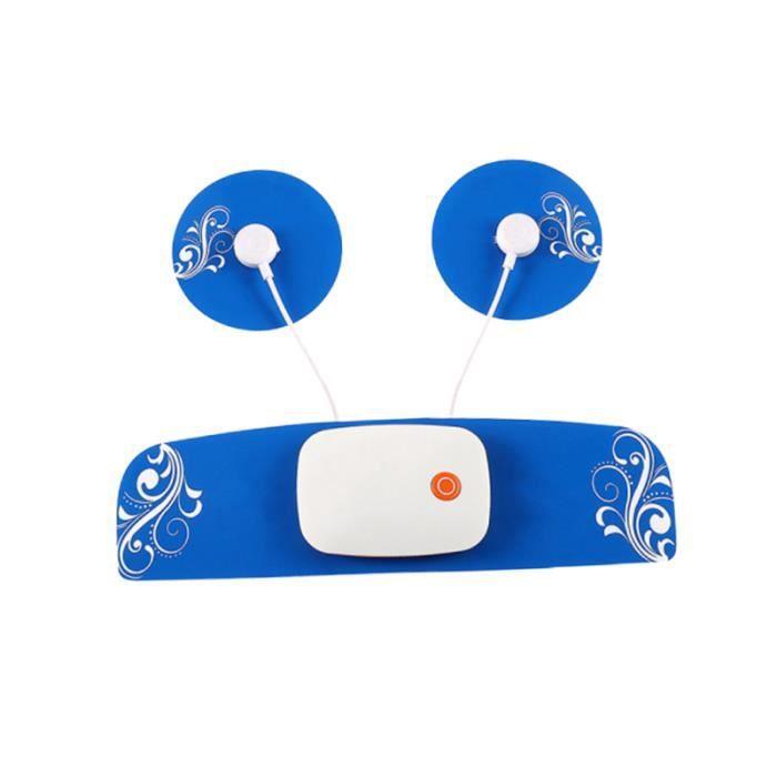 1 Pc masseur cervical EMS Pulse Phone Control Intelligent petit stimulateur autocollant dispositif de ABDO DEVICE - ABDO BOARD