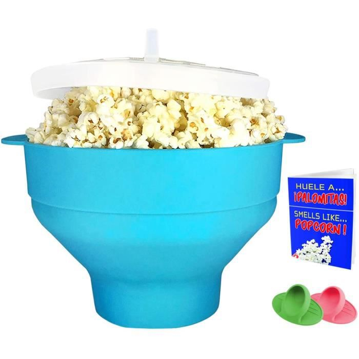 Machine a pop corn micro ondes silicone bowl a pop corn pour micro ondes popcorn maker machine pop corn microonde turquoise
