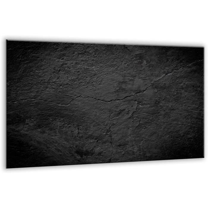 Planche à découper m - Grande planche à découper - Verre trempé - Grande planche à découper - Découpe murale de cuisine A310