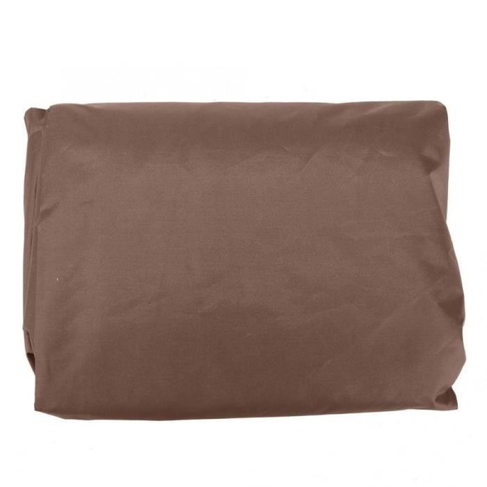 Housse de coussin,Couverture anti poussière d'extérieur Couvertures d'extérieur, baignoire carrée bain de Spa à - Type Coffee