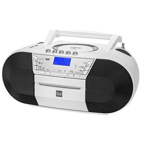 Dual Radio CD Dab-P 200 Boombox avec Lecteur Cassette weiß