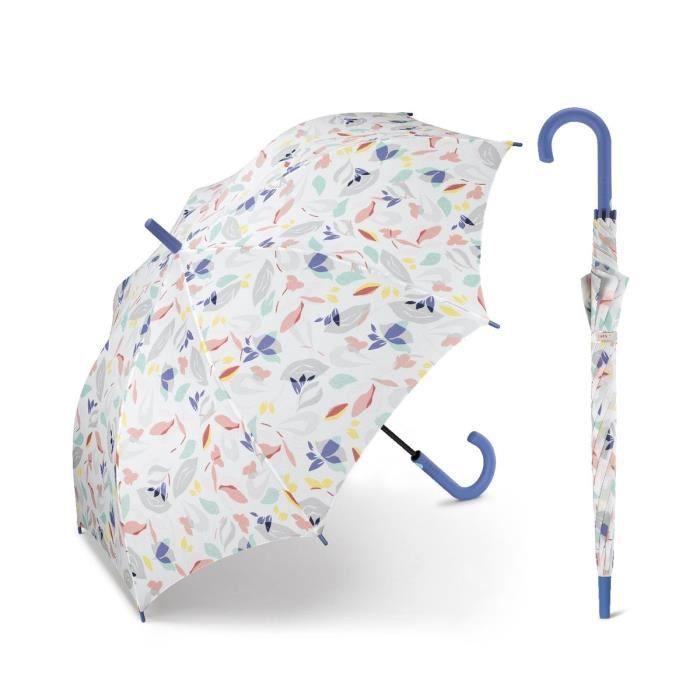 Esprit - Parapluie canne droit automatique femme Long AC secret_garden 53218 taille 86 cm
