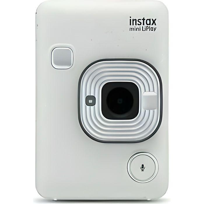 Appareil photo instantané numérique Fujifilm instax mini LiPlay stone white