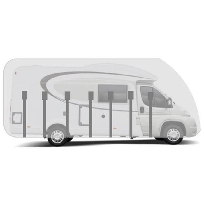Housse pour camping-car profilé long. 7.0m HBCOLLECTION