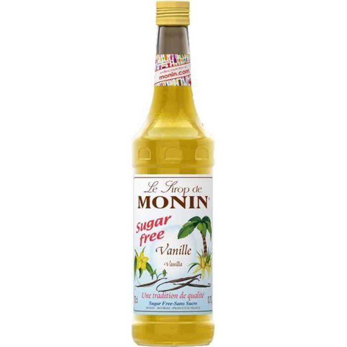 Monin - Monin Vanille Sans Sucre 70cl