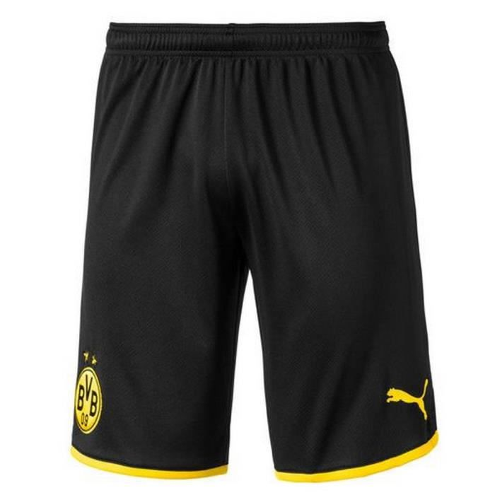 Short Officiel de Football Homme Borussia Dortmund Domicile Saison 2019-2020