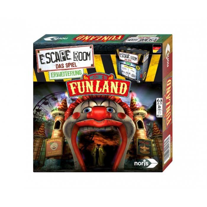 Noris Escape Room Funland, Déduction, Enfants et adultes, 60 min, 16 année(s), Boîte fermée