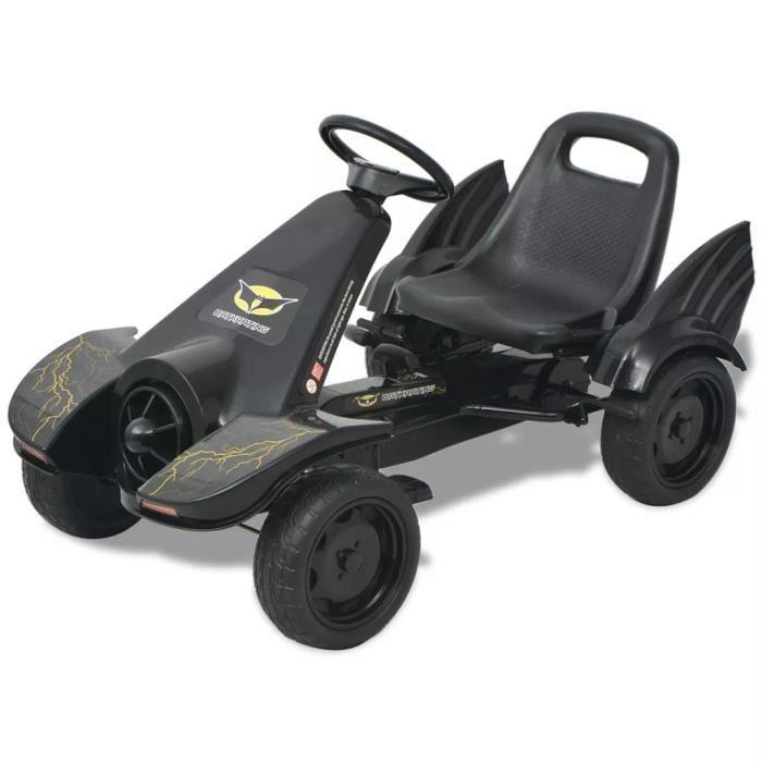 Kart à pédales Voiture Miniature Go-Kart Convient pour 4 à 8 ans Voiture Miniature Go-Kart -Convient pour 4 à 8 ans avec siège