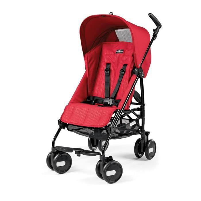PEG PEREGO Poussette Canne Pliko Mini Bloom Red