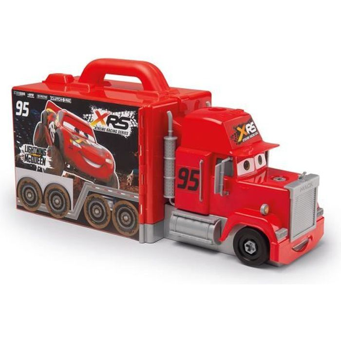 SMOBY Cars XRS Mack Truck Simulator + Accessoires