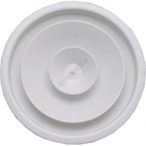 Diffuseur ou reprise circulaire à cone réglable D: