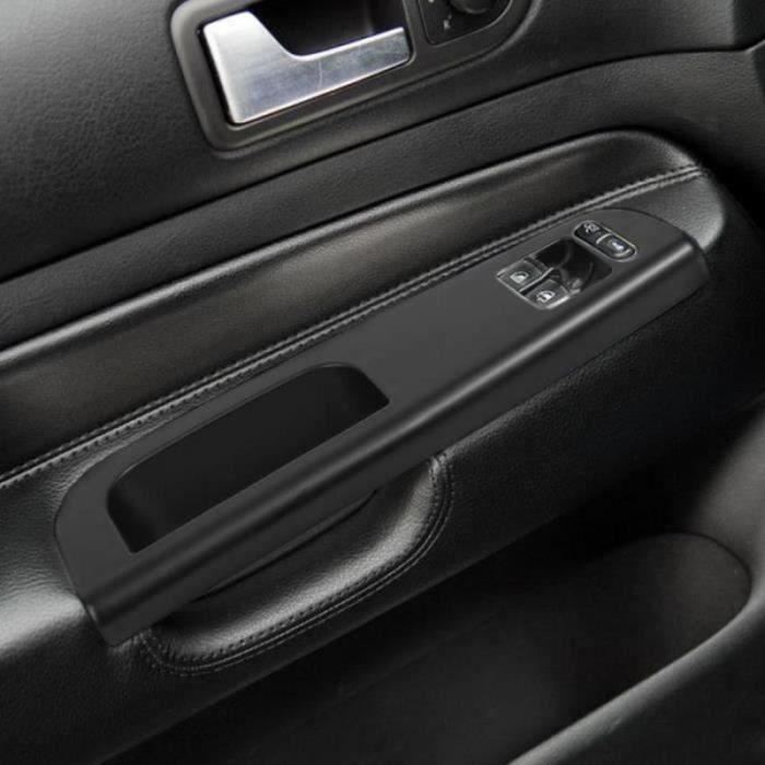 RS30533-Poignees,Poignées de porte intérieur de Golf 4 Passat 1998 2005 Panneau noir de commande de fenêtre principale lunette de