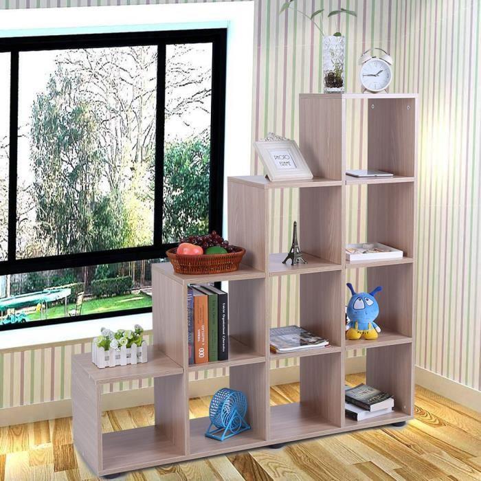 """PETIT MEUBLE RANGEMENT  """"10 Grilles meuble de rangement Cube Présentoir mo"""