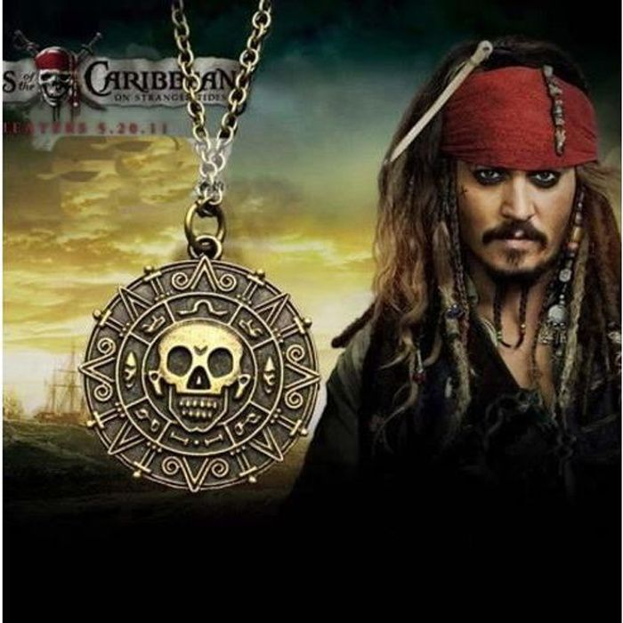 collier femme pirate
