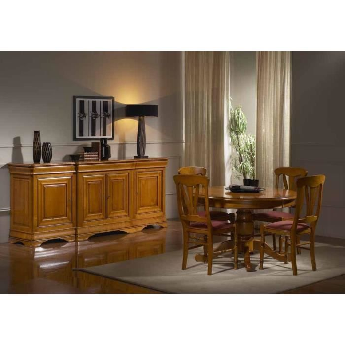 bahut enfilade rivarennes 4p avanc achat vente buffet bahut bahut enfilade rivarennes 4p. Black Bedroom Furniture Sets. Home Design Ideas