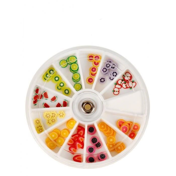 Fimo carrousel salade de fruits d coration achat for Decoration salade de fruits