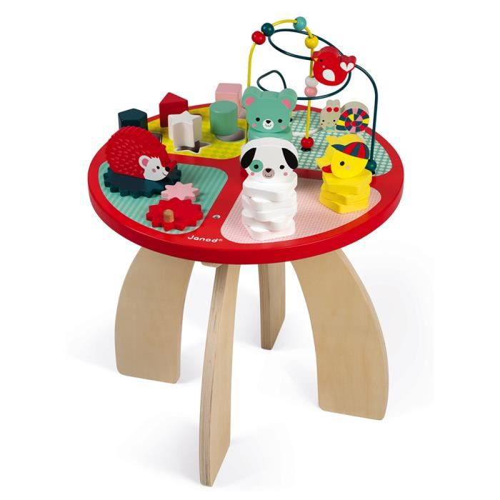 Table D Activites Baby Forest Bois Achat Vente Table Jouet D