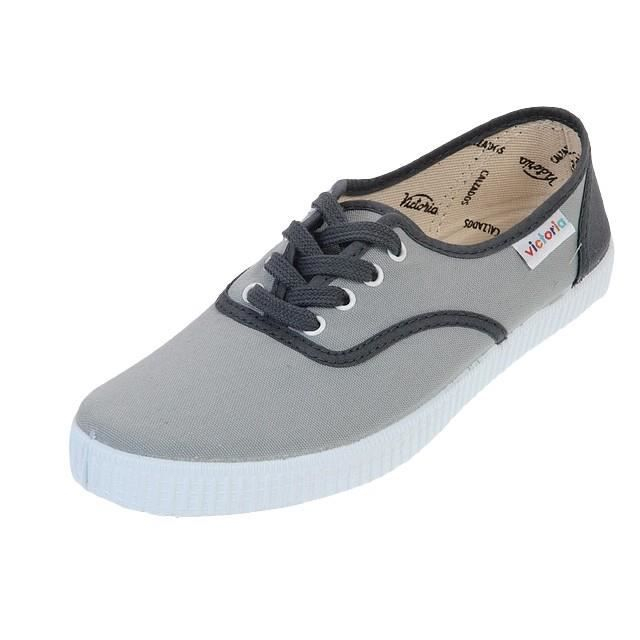 Chaussures basses toileLona detall gris