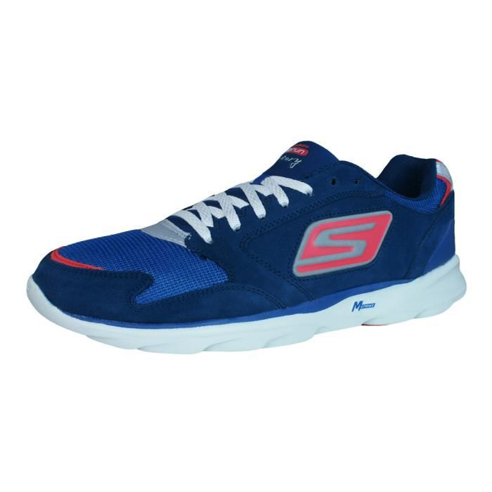 Chaussures De Sonic Victory Run Skechers Coursemarine Hommes Go EYqg1wX
