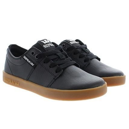 Stacks II, Sneakers Basses Homme, Noir (Black-Gum), 40 EUSupra