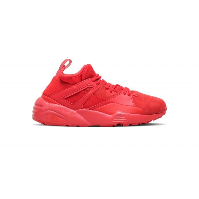 Core 'high Basket Bog Red' Puma Sock Risk R7Rq8ItxZ