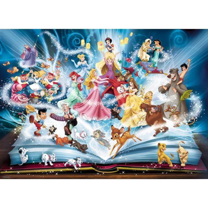 PUZZLE DISNEY CLASSIQUE Puzzle 1500 pcs Le livre magique