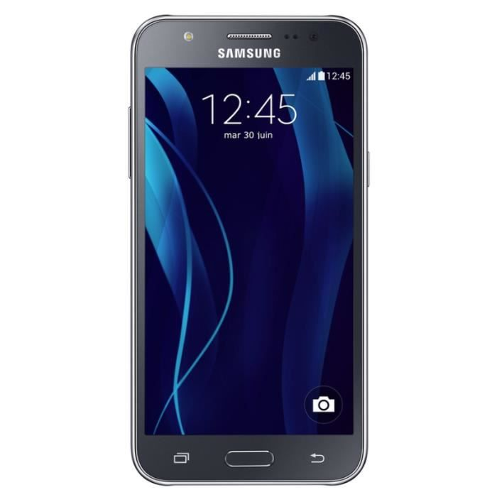 Samsung galaxy j5 noir achat smartphone pas cher for Photo ecran galaxy j5