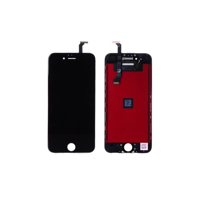 ecran lcd tactile iphone 6s plus noir achat pi ce t l phone pas cher avis et meilleur prix. Black Bedroom Furniture Sets. Home Design Ideas