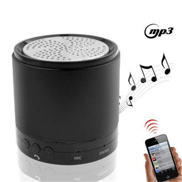 mini enceinte bluetooth iphone 5 4s 4 3 ipod ip. Black Bedroom Furniture Sets. Home Design Ideas