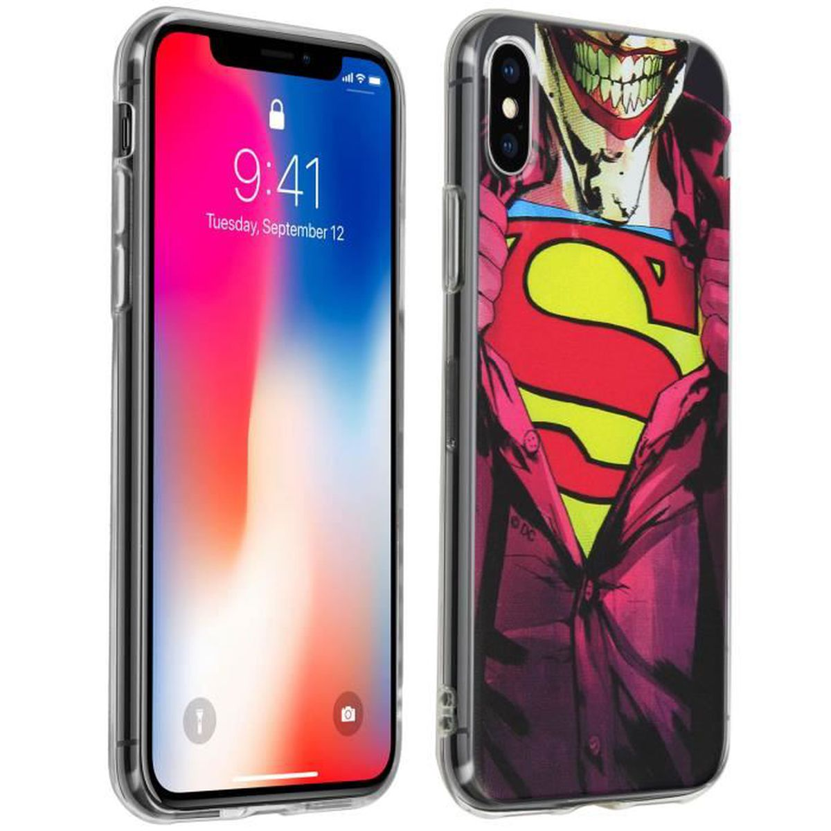 iphone x coque joker