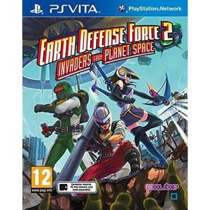 Earth Defense Force 2: Invaders Planet Space Jeu PS Vita