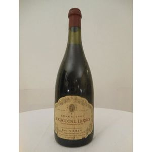 VIN ROUGE irancy luc sorin rouge 1983 - bourgogne france