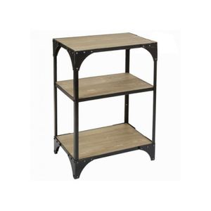 etagere murale style industriel achat vente etagere murale style industriel pas cher cyber. Black Bedroom Furniture Sets. Home Design Ideas