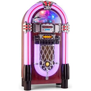 CHAINE HI-FI auna Graceland XXL BT- Jukebox Bluetooth style ann