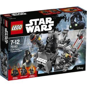 ASSEMBLAGE CONSTRUCTION LEGO® Star Wars™ 75183 La Transformation Dark Vado