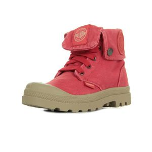 BOTTINE Boots Palladium Baggy Zipper Cayenne Red