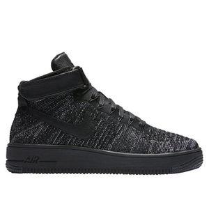 BASKET Nike af1 air force 1 flyknit hi haut baskets 81801