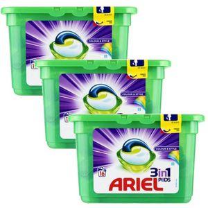 COUCHE Lot de 3 Ariel Pods 16 Colour & Style 3in1 (432 gr