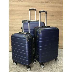 SET DE VALISES Définir 3 valises 8 roues 360o Rotating TSA Fermet