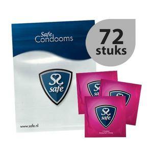 PRÉSERVATIF Boîte de 72  préservatifs Strong Safe - Résistant